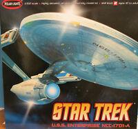 Polar Lights 1/350 Star Trek Uss Enterprise A Plastic Model Kit 35 Long 808