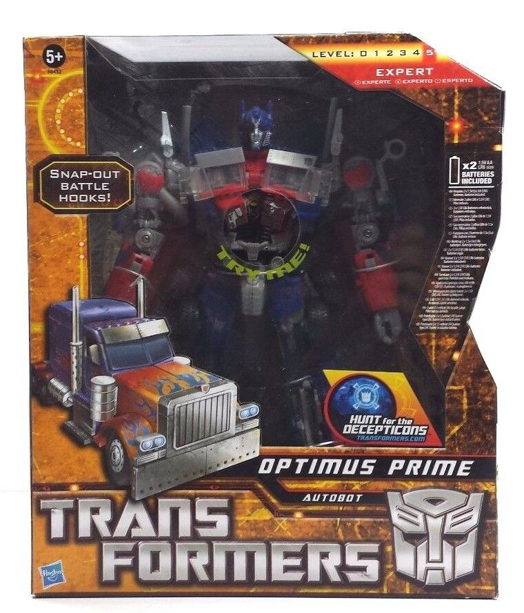 Optimus Prime Leader Battle Hooks (HFTD) Transformer NEW (MISB) [OPHD1]