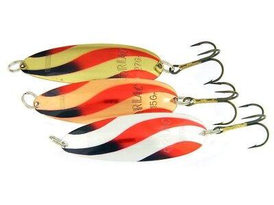 3g Barsch 1g für Forelle *SyMa-Fishing* Mini Blinker Spoons 8 Stück