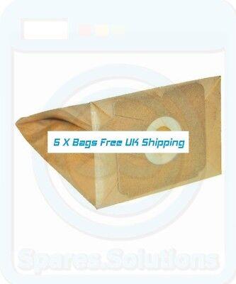 5 x E51, E51n, E65 Dust Bags for Volta