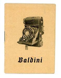 BALDA KAMERA WERK Bedienungsanleitung BALDINI User Manual Anleitung (Y2522