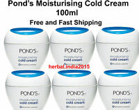 10 Pack Ponds Moisturing Cold Cream, 100ml. Fast Shipping From India.sbs