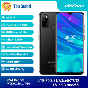 "Ulefone Note 9P Unlocked Smartphone 6.52"" Android 10 OctaCore 64GB 4G Cell Phone"