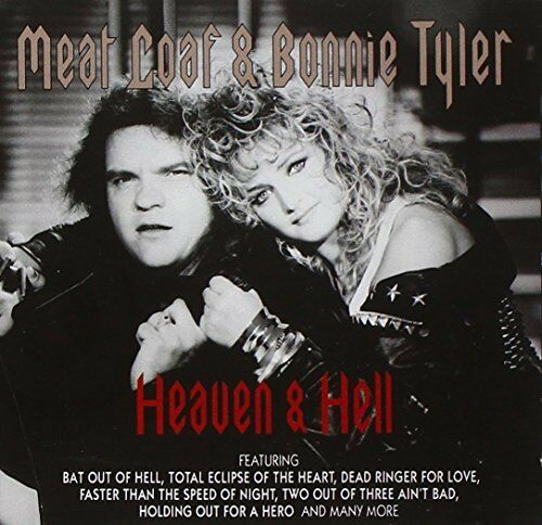 1 of 1 - Bonnie Tyler & Meat Loaf - Heaven & Hell - Bonnie Tyler & Meat Loaf CD 32VG The