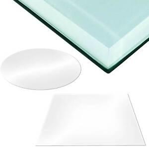 Glasplatte Glastisch Tischplatte Glas Tisch Glasscheibe ESG