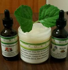 Ultimate Hair Growth Bundle Alopecia/ Balding Shea Mix and Hair Thickening Oil