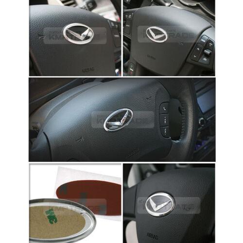 Eagle Emblem Steering Wheel Horn Cap 1EA for HYUNDAI 11-16 Elantra//Avante MD