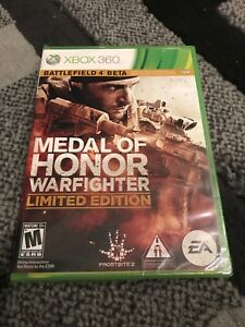 Medal-of-Honor-Warfighter-Limited-Edition-XBOX-360-NEW-Factory-Sealed