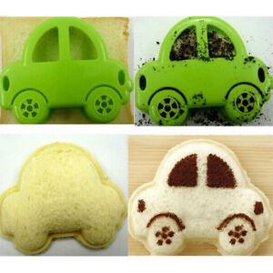 car transport boy sandwich maker cute bread toast kids cutter mold