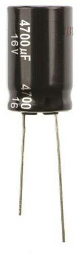 Capacitor 0.1uF 50V 50 Volt 4 x 6.3mm Radial ECEA1HK50R1 Electrolytic PCB x 5pcs