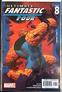 Ultimate-Fantastic-Four-8-VF-1st-Imprime-Marvel-Comics