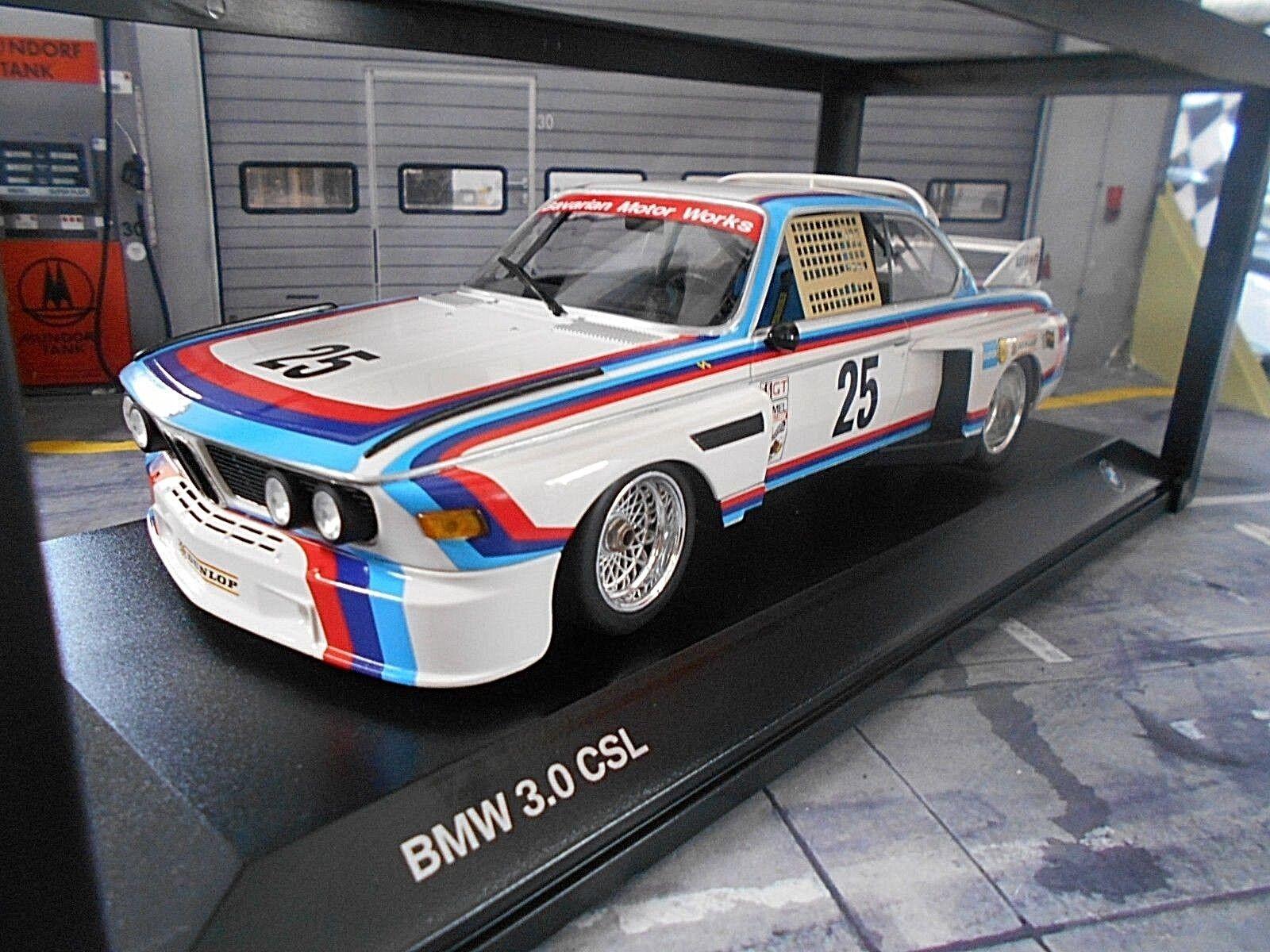 BMW 3.0 CSL #25 Sebring Sebring Sebring 1975 stuc Posey Moffat Posey MINICHAMPS BMW NEUF 1:18   Shop  11c201