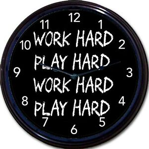"CafePress Time To Play Guitar Unique Decorative 10/"" Wall Clock 583153444"