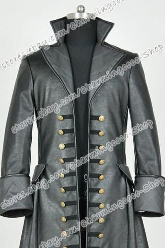 Captain Hook Killian Jones Cosplay Costume Jacket Once Upon A Time Season 3