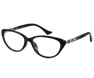 f5ff5413c31d Reading Glasses Womens Mens Black Cat Eye Anti Glare Lens RX ry2209 ...