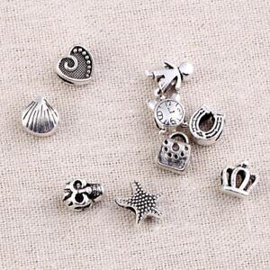 Fashion-Beads-Dreadlock-Cuff-Bags-Love-Pattern-Alloy-Jewelry-Accessories-10-Pcs