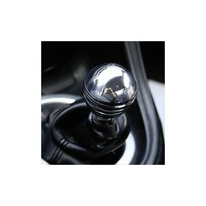 MUSTANG POLISHED BILLET SHORT COOL GRIP SHIFT KNOB