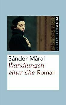 Wandlungen einer Ehe: Roman von Márai, Sándor | Buch | Zustand sehr gut