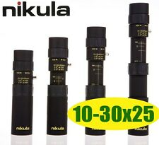 New Nikula Mini 10-30x25 High Power Zoom Optical Monocular Telescopes Outdoor