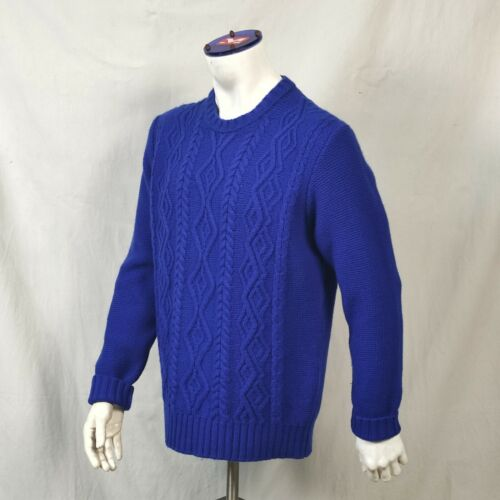Inis Meain Private White Aran Cable knit Fisherman