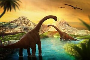 A1-Prehistoric-Dinosaurs-Poster-Art-Print-60-x-90cm-180gsm-Boys-Fun-Gift-8529