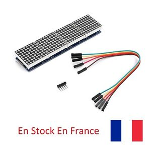 MAX7219-Matrice-LED-4-in-1-Dot-Matrix-MCU-Display-8X8-LED-Arduino-DIY