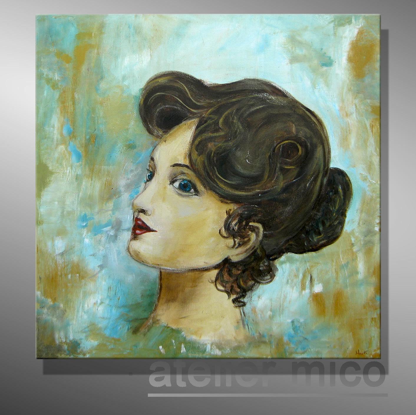 C. GOETHE ORIGINAL abstraktes Gemälde modern bilder malerei Acrylbild portrait