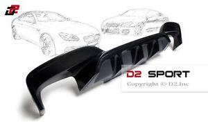 Carbon Fiber P Style Rear Bumper Diffuser fits BMW F06 F12 F13 M Sport & M6