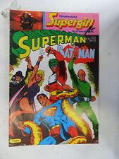 1 x Comic - Superman Batman  Nr.8   mit Sammel Ecke   (Apr 1985)     Zustand 2
