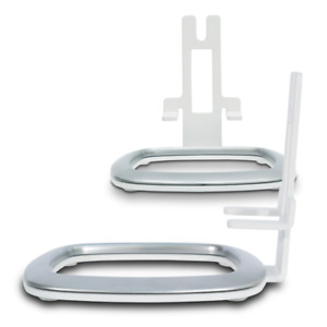 Flexson FLXP1DS2011 Desk Stand for Sonos Play:1 White (PAIR) NEW!!