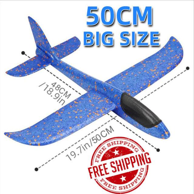 "Styrofoam Gliders 22"" Wingspan Foam Stunt Airplane High Flying Trick Plane  Kit for sale online | eBay"