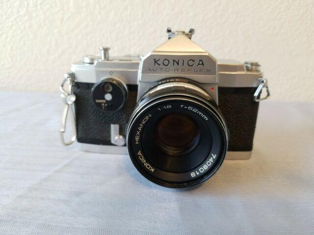 RARE!! Vintage 1960s KONICA FM Camera w/ Hexanon 52mm F1.8