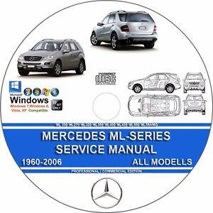 mercedes ml230 ml320 ml350 ml400 ml430 ml500 ml27cdi service repair rh ebay com 2000 Mercedes ML320 Problems 2000 Mercedes ML320 Problems