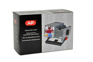 AP Automatic 35mm Slide Viewer 2X Magnification Mains or Battery Operated