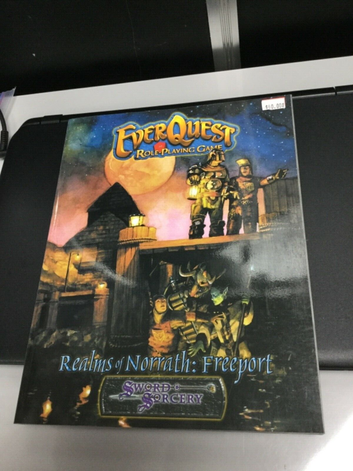EVERQUEST ROLE PLAYING GAME REALMS OF NORRATH  FREEPORT WW16510 (2003) HTF