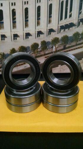 6006-2RS  Premium Electric Motor Quality  Ball Bearing 30x55x13mm Qty 6