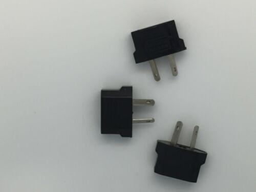 3pcs Usa Us Eu Adapter Plug To Au Aus Australia or New Zealand Travel Power Plug