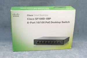 CISCO SYSTEMS SF100D-08P-NA 8 Port 10//100 Desktop Switch