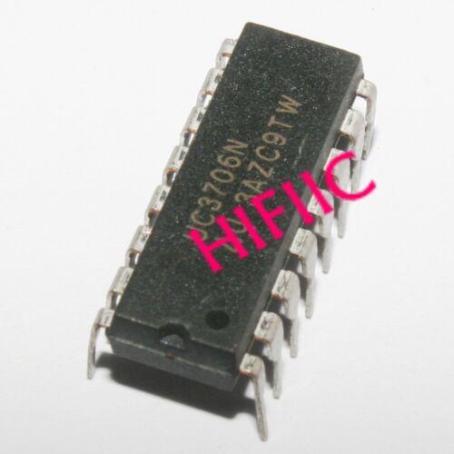 1PCS UC3706N UC3706 Dual High Speed MOSFET Drivers