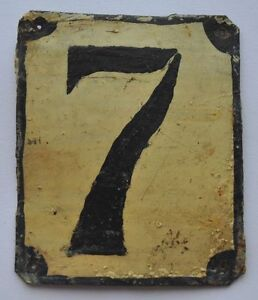 Ordinaire Image Is Loading 1900s Imperial Russia Apartment Flat Door Number Sign