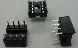 20pcs-8pin-IC-Socket-Adaptor-PCB-Solder-Type-DIP-2-54mm-Pitch-8p-Electronic-DIY
