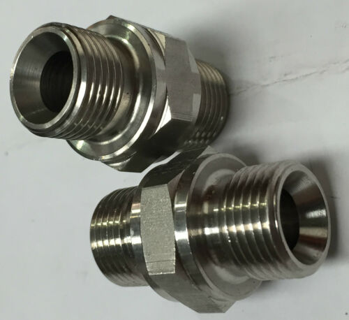 "2/"" 3K RATED 1//8/"" BSPP MALE STAINLESS STEEL 316 PIPE FITTINGS"