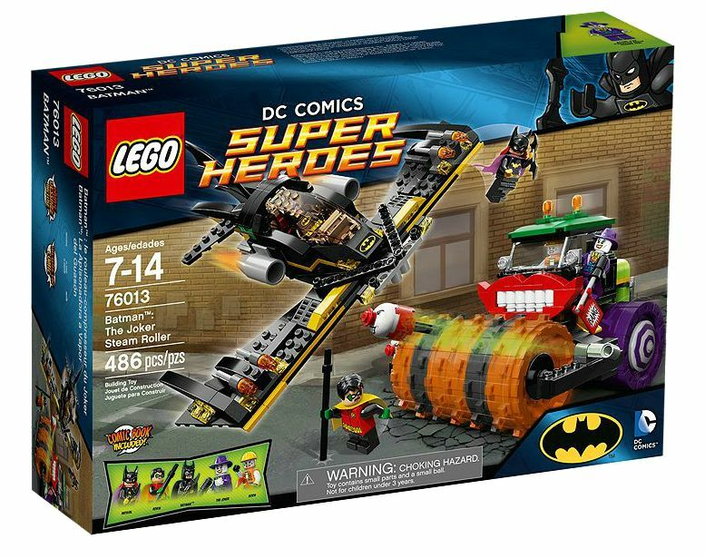 LEGO® DC Comics™ Super Heroes 76013 Batman™: Jokers Dampfroller NEU OVP NEW MISB