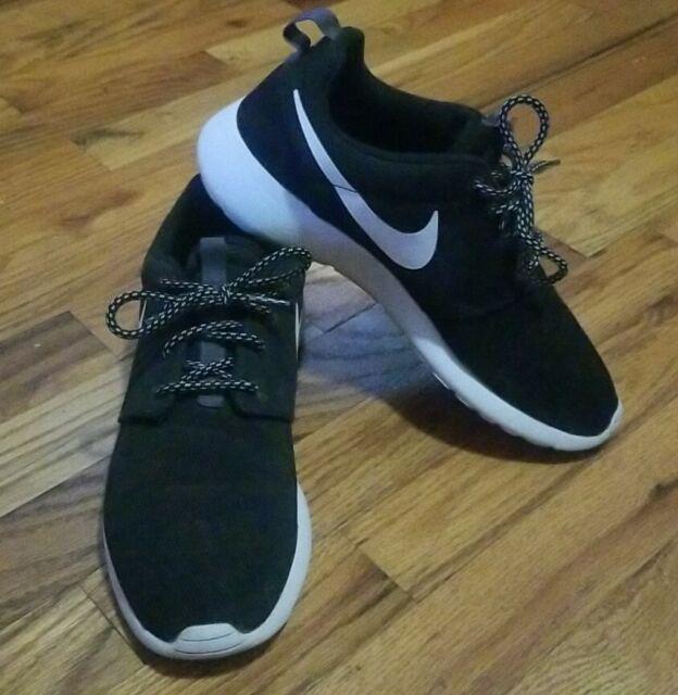 la licenciatura Margarita chasquido  Nike Shoes Women's SNEAKERS 844994 002 Roshe One Black Women EUR 38 for  sale online | eBay
