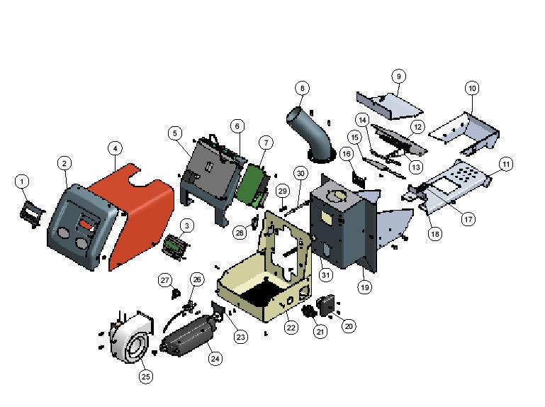 Iwabo Ersatzteil Fotozelle Fotozelle Fotozelle / Flammenwächter für Pelletsbrenner Villa S2 S1X d465fd