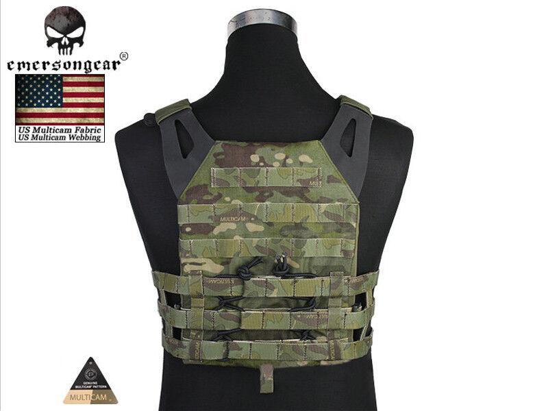 Emerson Jumper Plate Carrier Vest Airsoft Tactical Vest Multicam Tropic