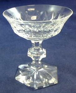 Val-St-Lambert-METTERNICH-FANTAISIE-Champagne-Tall-Sherbet-GREAT-CONDITION
