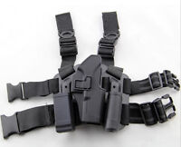 Tactical Serpa Concealment-like Hard Drop Leg Holster For Glock 19/23/32/36