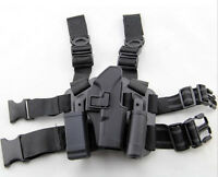 Tactical Serpa Concealment-like Hard Drop Leg Holster For Glock 19/23/32/36