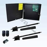 Apollo 1600 Dual Gate Opener Solar Swing Gate Kit Electric Automatic Operator